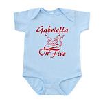 Gabriella On Fire Infant Bodysuit