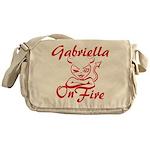 Gabriella On Fire Messenger Bag