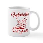 Gabriella On Fire Mug
