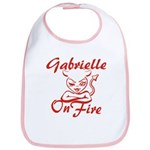 Gabrielle On Fire Bib