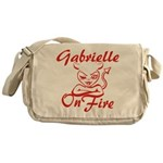 Gabrielle On Fire Messenger Bag