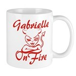 Gabrielle On Fire Mug