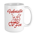 Gabrielle On Fire Large Mug
