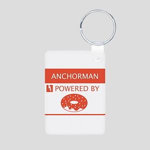 Anchorman Powered by Doughnuts Aluminum Photo Keyc