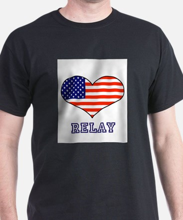 LOVE RELAY the stars and stripes T-Shirt