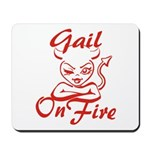 Gail On Fire Mousepad