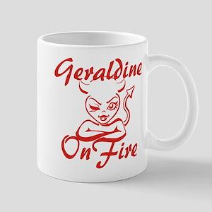 Geraldine On Fire Mug