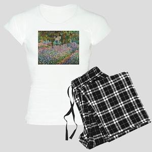 Irises in Monet's Garden Women's Light Pajamas