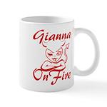 Gianna On Fire Mug