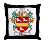 O'Rush Coat of Arms Throw Pillow
