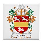 O'Rush Coat of Arms Tile Coaster