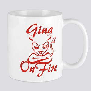 Gina On Fire Mug