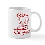 Gina On Fire Mug