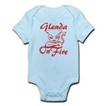 Glenda On Fire Infant Bodysuit