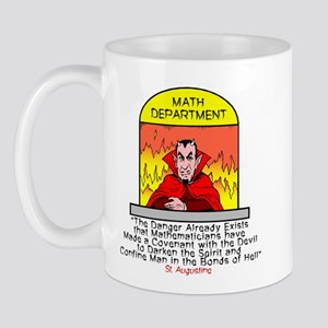 Mathematicians and Satan Mug