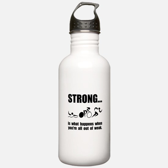 Triathlon Strong Water Bottle