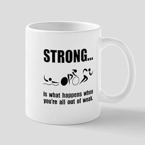 Triathlon Strong Mug