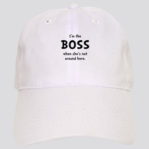 Im The Boss Shes Not Around Cap