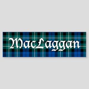 Tartan-MacLaggan Sticker (Bumper)
