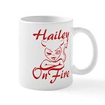 Hailey On Fire Mug
