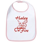 Haley On Fire Bib