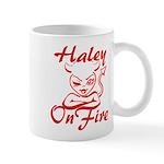 Haley On Fire Mug