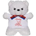Haley On Fire Teddy Bear
