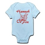 Hannah On Fire Infant Bodysuit