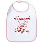 Hannah On Fire Bib