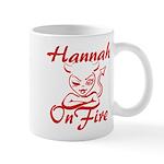 Hannah On Fire Mug