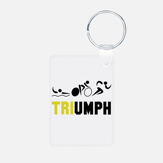 Tri Triumph Keychains