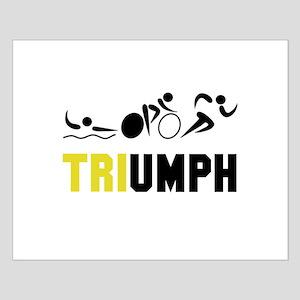 Tri Triumph Small Poster