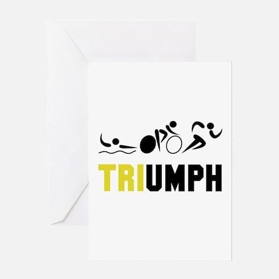 Tri Triumph Greeting Card
