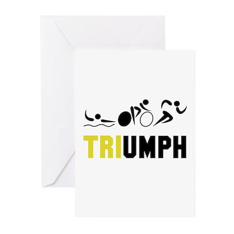 Tri Triumph Greeting Cards (Pk of 10)