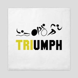 Tri Triumph Queen Duvet