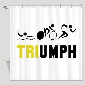 Tri Triumph Shower Curtain
