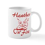 Heather On Fire Mug