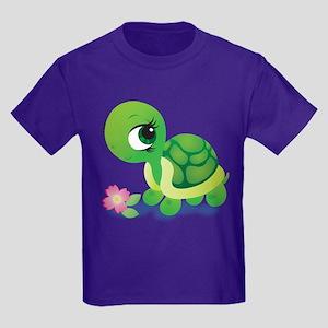 Toshi the Turtle Kids Dark T-Shirt