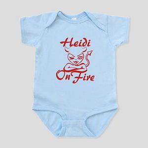 Heidi On Fire Infant Bodysuit