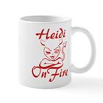 Heidi On Fire Mug