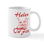 Helen On Fire Mug