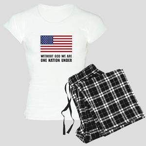 One Nation Under God Women's Light Pajamas