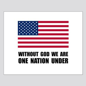 One Nation Under God Small Poster