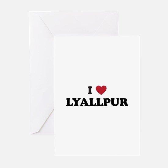 I Love Lyallpur Greeting Cards (Pk of 20)