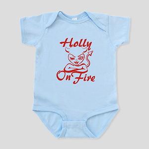Holly On Fire Infant Bodysuit