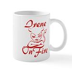 Irene On Fire Mug