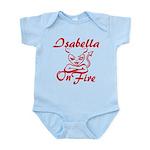 Isabella On Fire Infant Bodysuit