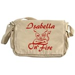 Isabella On Fire Messenger Bag