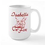 Isabella On Fire Large Mug