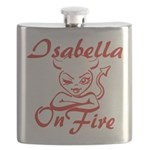 Isabella On Fire Flask
